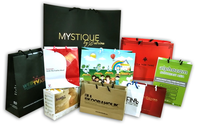 OFFSET FULL COLOUR PAPERBAG PRINTING